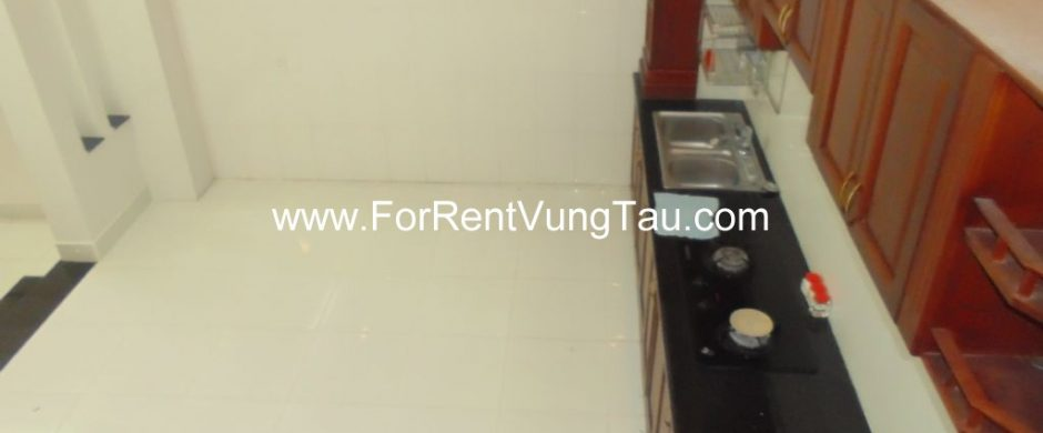 WHITE HOUSE FOR RENT AND SALE IN BACK BEACH AREA, VUNG TAU CITY B143